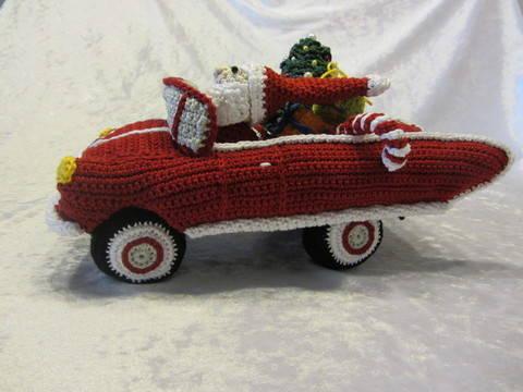 Rasender Weihnachtsmann bei Makerist