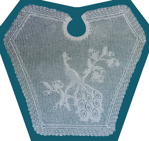 Lace Peacock Shawl at Makerist