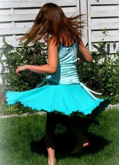 Drehrock DANCING LIA Freebook Gr. 86/92 bis 158/164 bei Makerist - Bild 1