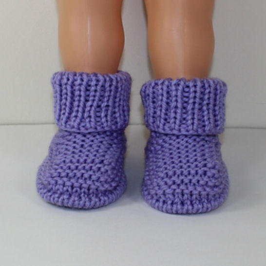 Toddler Simple Chunky Rib Cuff Boots at Makerist - Image 1