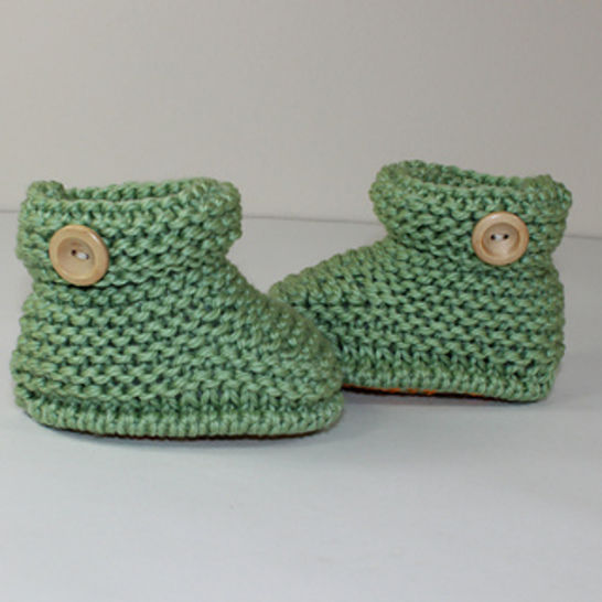 Toddler Simple Chunky One Button Ankle Boots at Makerist - Image 1