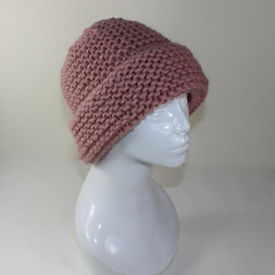 Extra Roomy Super Chunky Moss Stitch Big Beanie at Makerist - Image 1