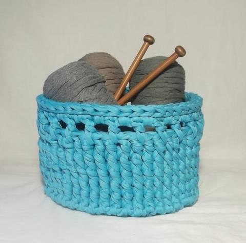 Tidy Up Baskets Crochet Pattern