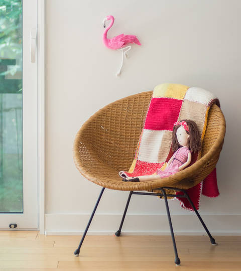 Sewing pattern for wall Flamingo at Makerist