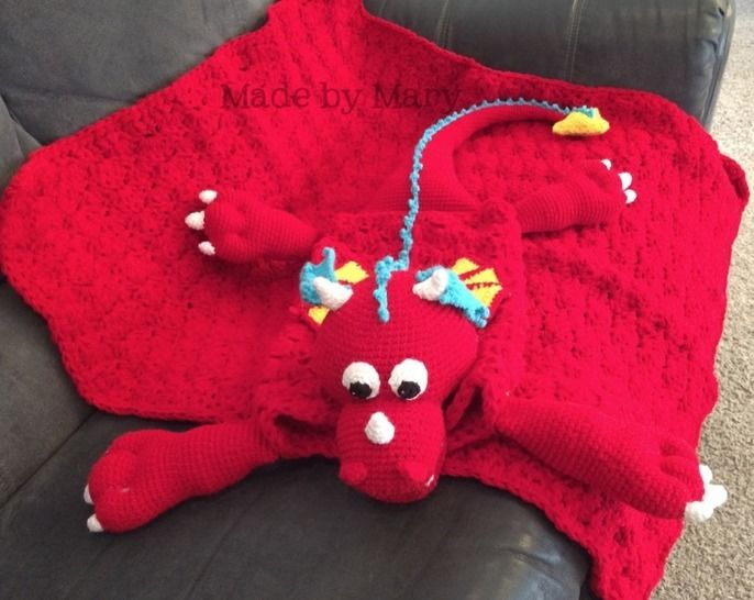 Maximus the Dragon Blanket Buddy at Makerist - Image 1