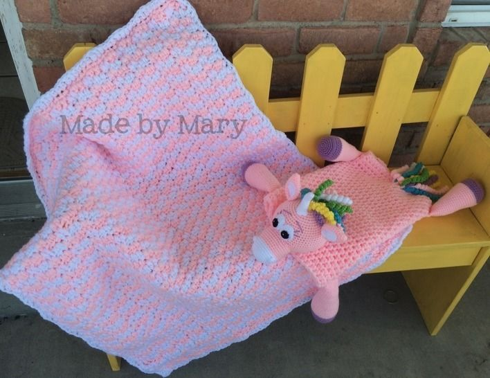 Zoe the Unicorn, Zebra, or Horse Blanket Buddy at Makerist - Image 1