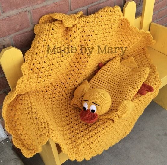 Billingsworth the Duck Blanket Buddy at Makerist - Image 1