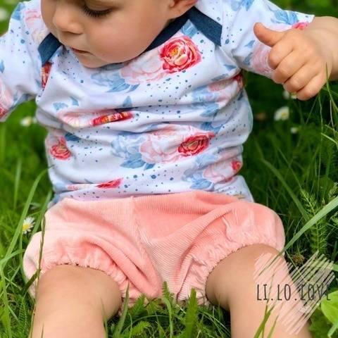 Baby Shorts (Gr. 56 - 86) Schnittmuster und Nähanleitung bei Makerist