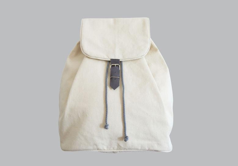 Rucksack No. 1 mit Kordelzug und verstellbaren Trägern bei Makerist - Bild 1
