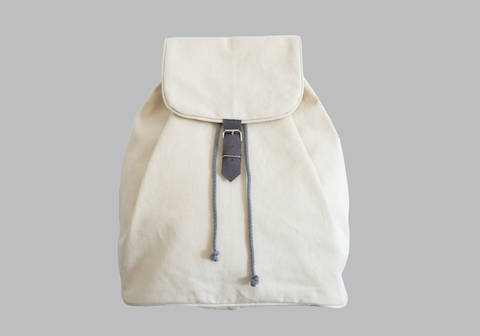 Rucksack No. 1 mit Kordelzug und verstellbaren Trägern bei Makerist