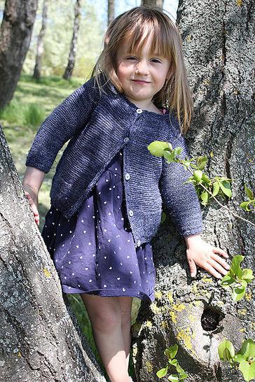 Gilet enfant Starlette du 3m au 12 ans - Tricot chez Makerist - Image 1