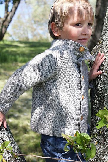 Cardigan enfant Joseph du 6m au 12 ans - Tricot chez Makerist - Image 1