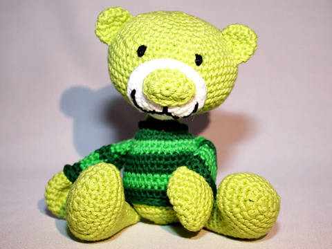 Teddy - Crochet Pattern