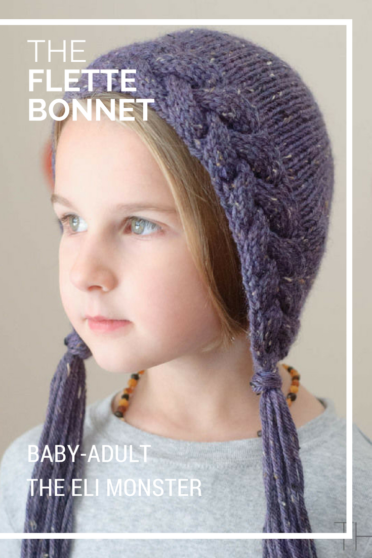 The Flette Bonnet - Sized Baby to Adult