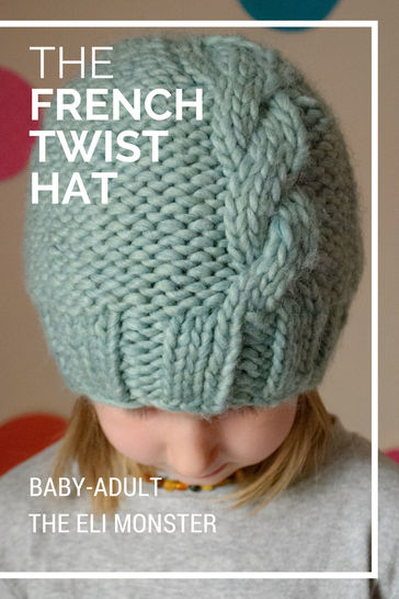The French Twist Hat - Sized Baby to Adult at Makerist - Image 1
