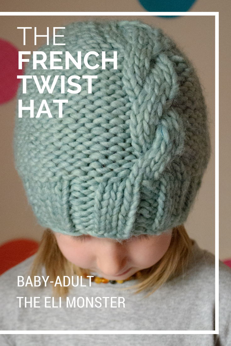 The French Twist Hat - Sized Baby to Adult
