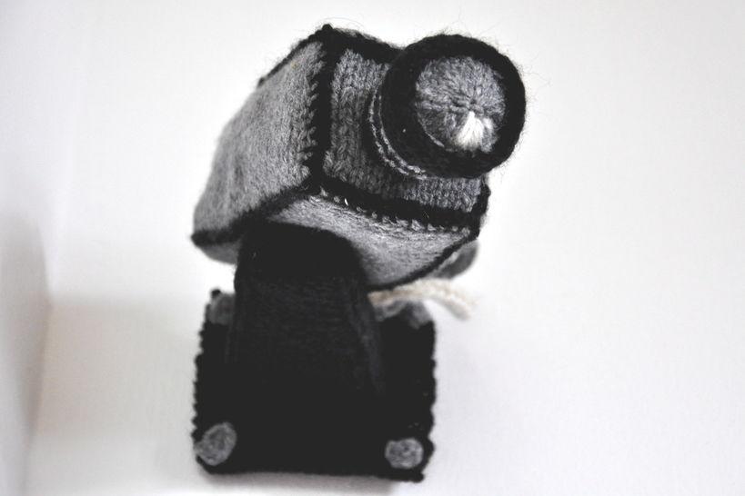 Security Camera Knitting Pattern PDF at Makerist - Image 1