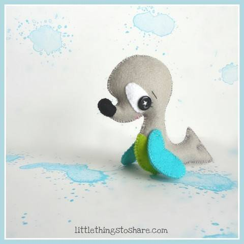 Seal pattern-Sea animals toy-DIY-Ocean Animals toys