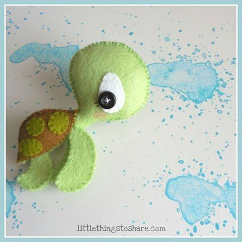 The Turtle pattern-Sea animals toy-DIY-Cute Sea turtle toy