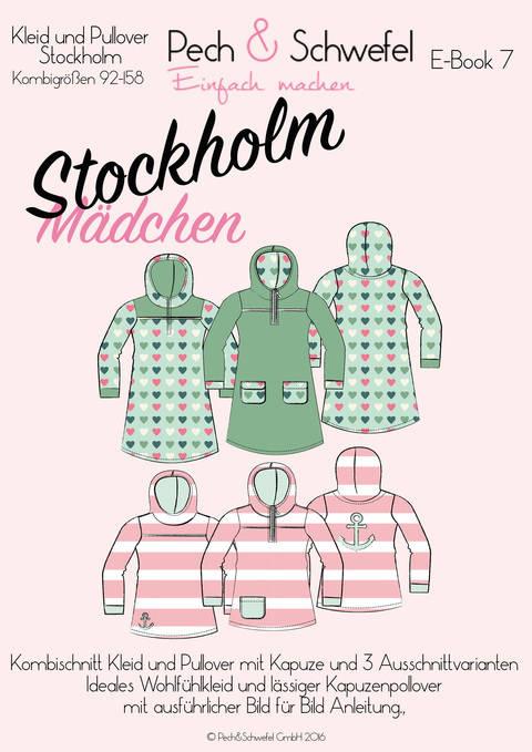 Ebook Kapuzenkleid und -pullover Stockholm für Kids