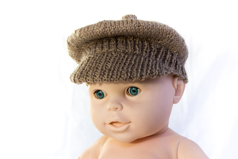 Newsboy Cap- Brimmed Cap- Knitting Pattern at Makerist - Image 1