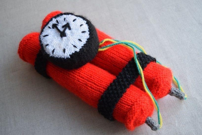 Dynamite Bomb Knitting Pattern PDF at Makerist - Image 1