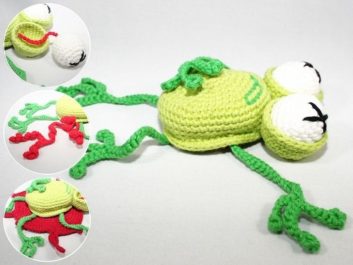 Dead Frog - Crochet Pattern  at Makerist - Image 1