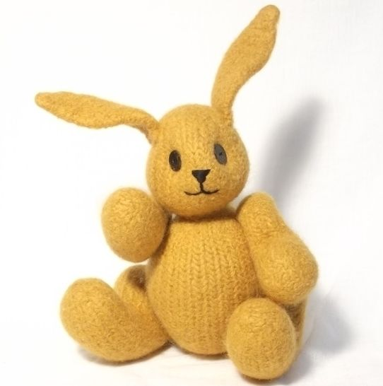 Bunny Rabbit Knitting Pattern at Makerist - Image 1