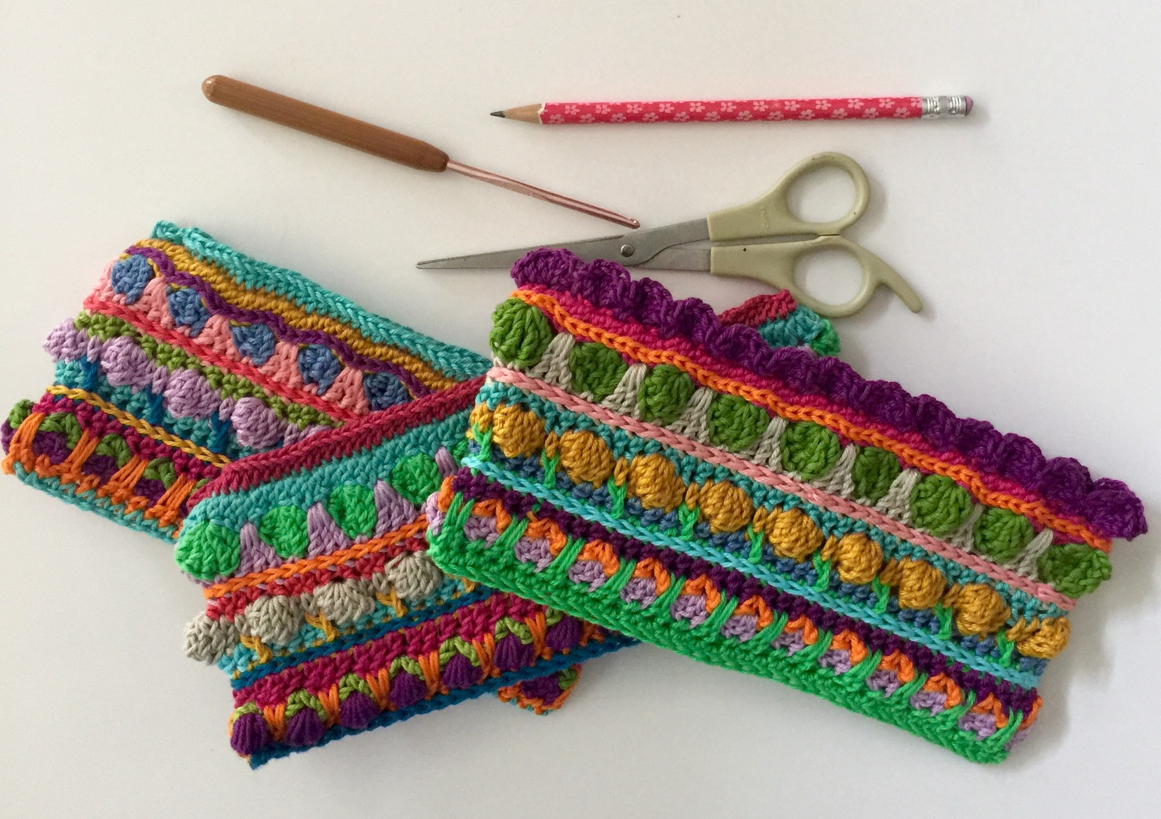 Seamless Sew Free Crochet Pencil Case and Change Purse