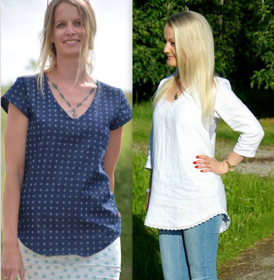 eBook Tunic top ANKI Size: XS-XXL at Makerist - Image 1