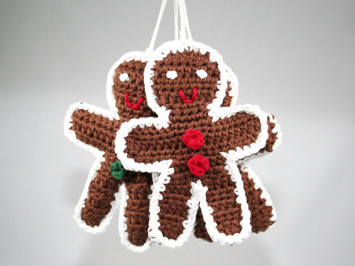 Gingerbread Man - Ornament - Crochet Pattern at Makerist - Image 1