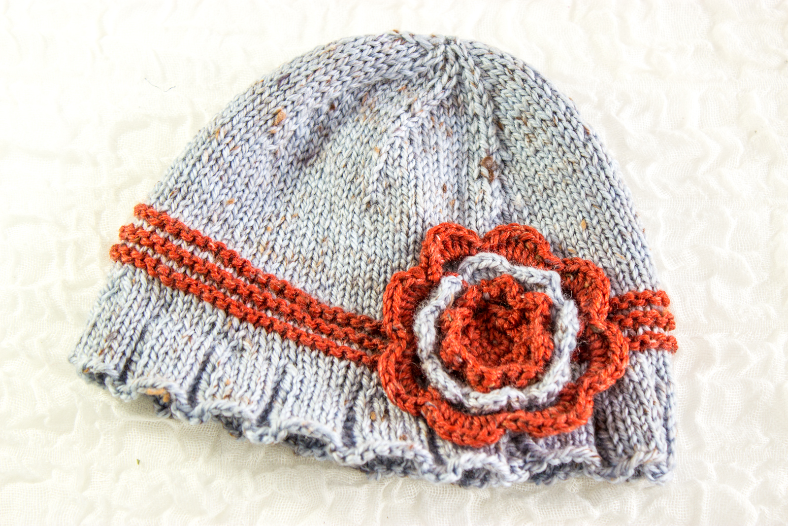 Girl's Cloche Hat- Knitting Pattern