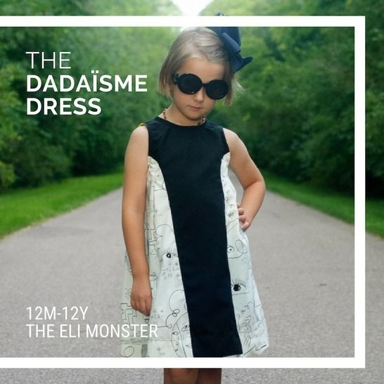 The Dadaïsme Dress Sewing Pattern - Sized 12m-12y at Makerist - Image 1