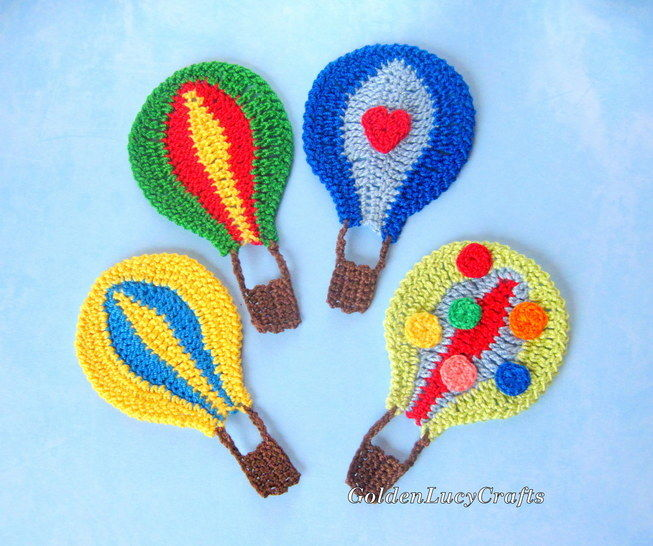 Hot Air Balloon Applique at Makerist - Image 1