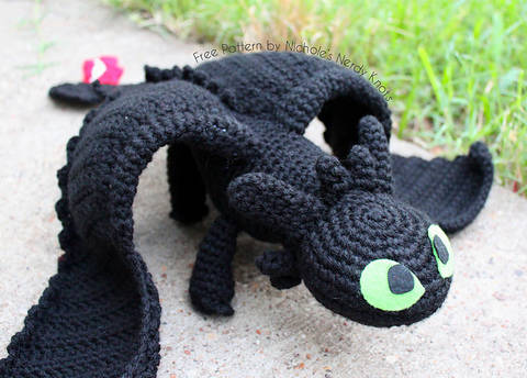 Amigurumi Krokmou - crochet