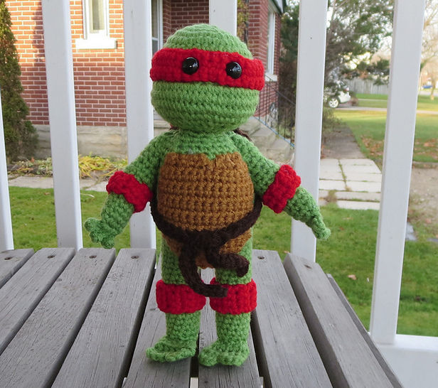 Teenage Mutant Ninja Turtle - Crochet at Makerist - Image 1