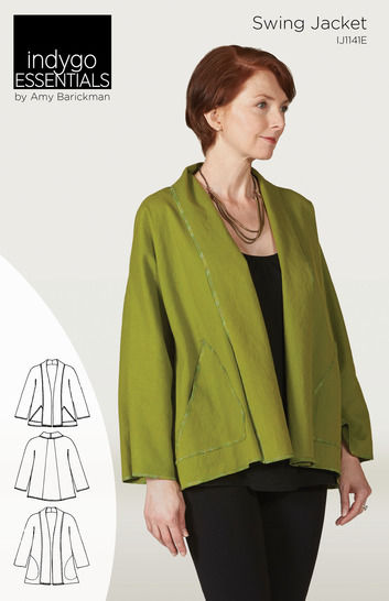 Indygo Essentials Swing Jacket at Makerist - Image 1