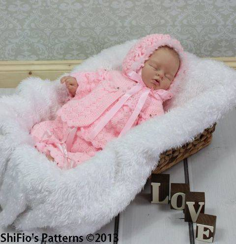 CP26 Jacket, Pants, Hat, Bootees Baby Crochet Pattern # 26 at Makerist