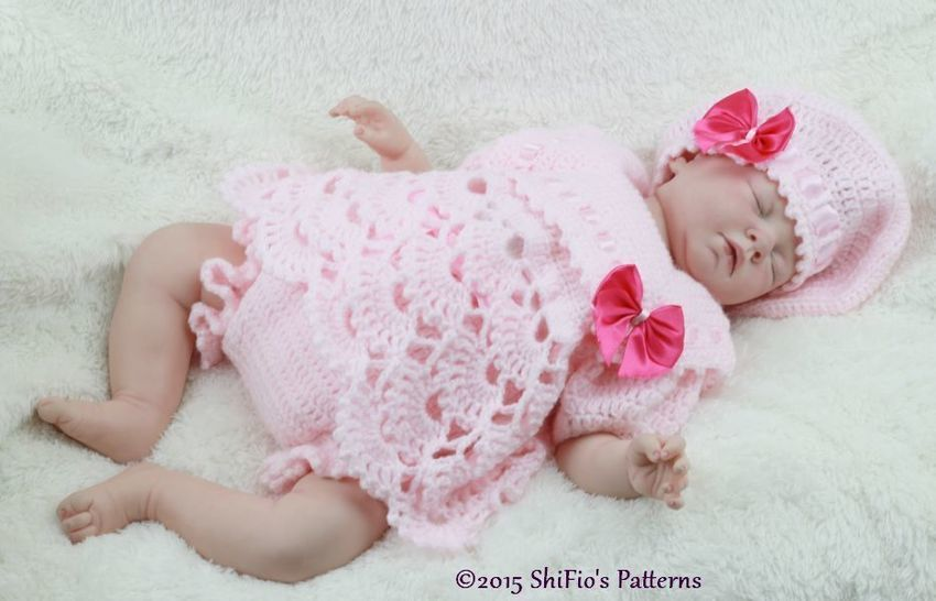 CP319 Sailor Angel Top, Pants, Beret in 3 Sizes Baby Crochet Pattern #319 at Makerist - Image 1