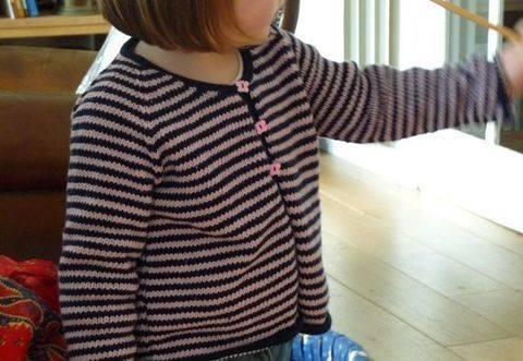Gilet Malou une taille 4 ans - tricot chez Makerist