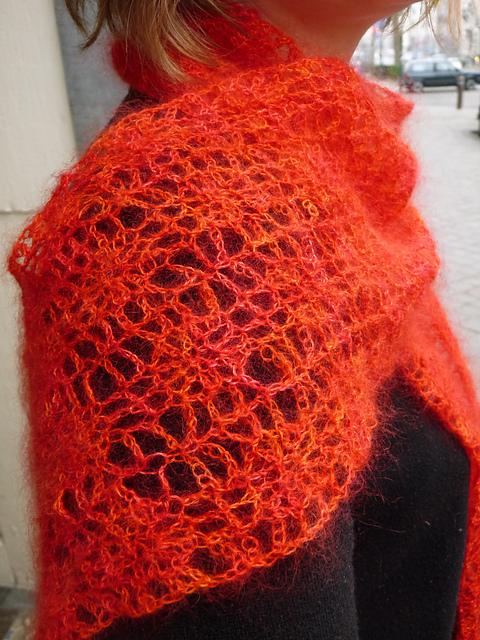 Echarpe Arachné - crochet