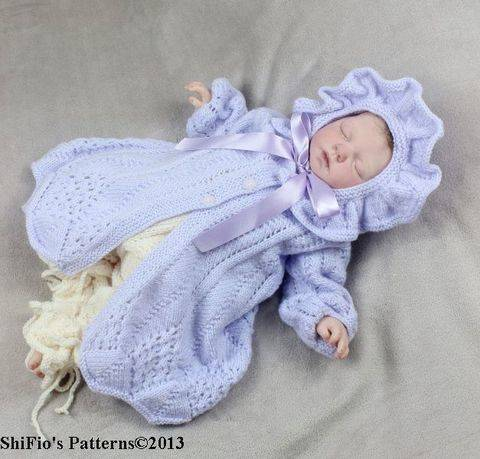 KP80  Forget Me Not Jacket, Pants & Hat Knitting pattern #80 at Makerist
