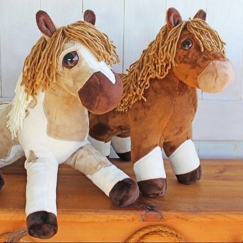 Floppy Filly and Classic Colt Plush Horse Softie