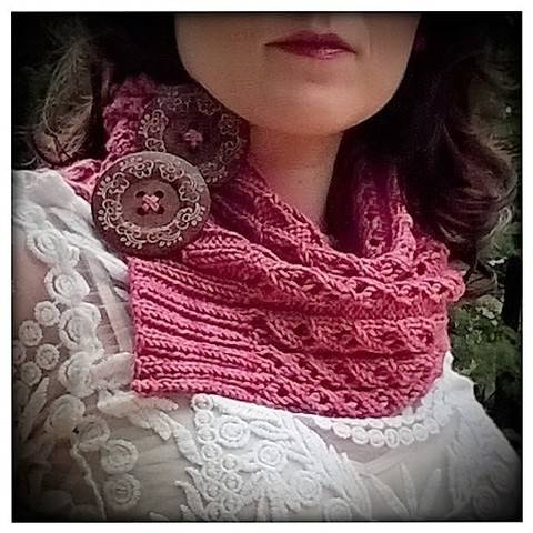 """ my sweet candy cowl""  at Makerist"