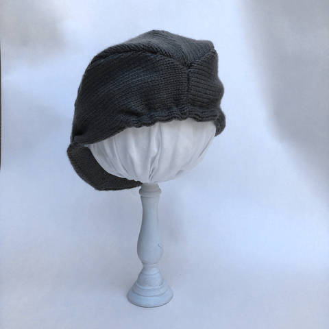 Baby Knitted Gatsby Driver Hat