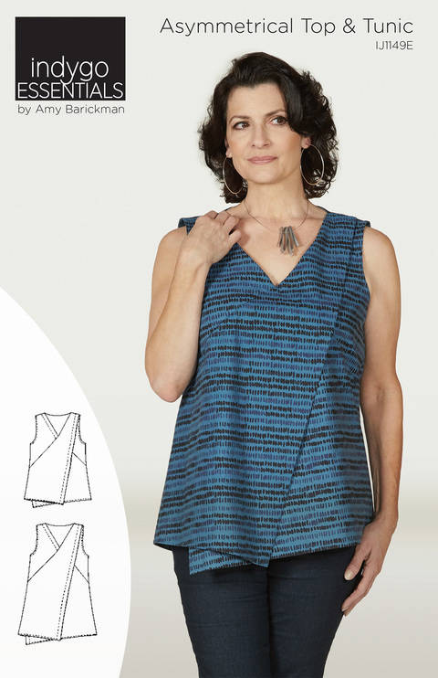 Indygo Essentials - Asymmetrical Top & Tunic at Makerist