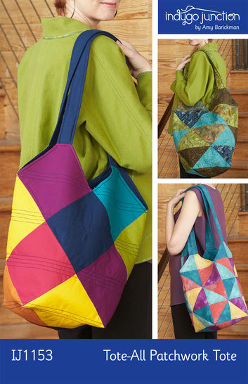 Tote-All Patchwork Tote Bag at Makerist - Image 1