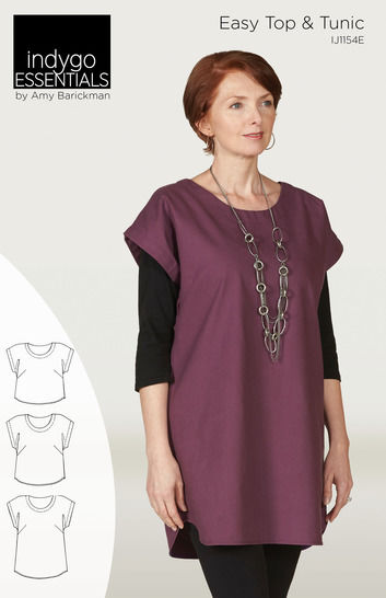 Indygo Essentials - Easy Top & Tunic at Makerist - Image 1