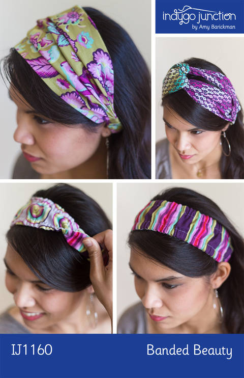 Banded Beauty Headbands at Makerist