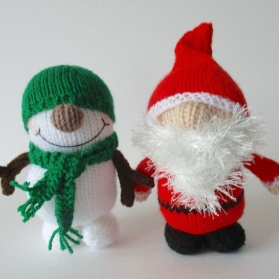 Father Crimbo and Snowy at Makerist - Image 1